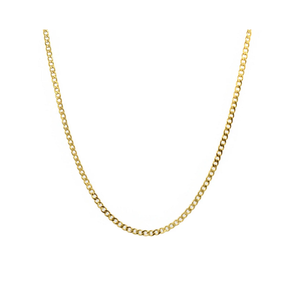 PARADIGM CURB CHAIN NECKLACE