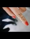 EF COLLECTION DIAMOND MINI EVIL EYE STACK RING