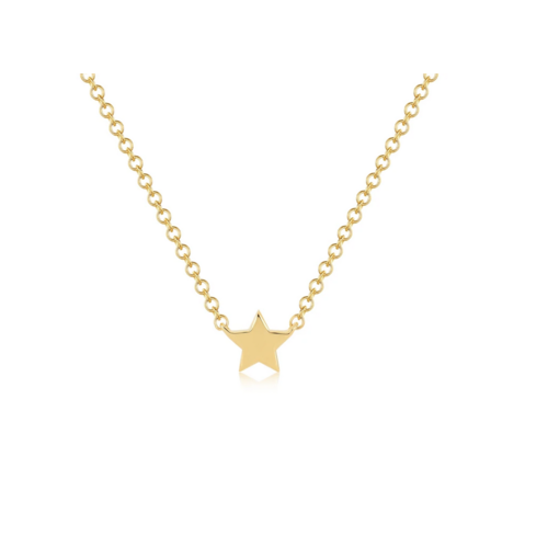 EF COLLECTION EF COLLECTION BABY GOLD STAR NECKLACE