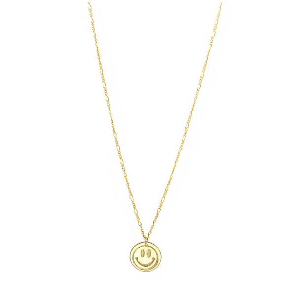 PARADIGM LARGE SMILEY NECKLACE