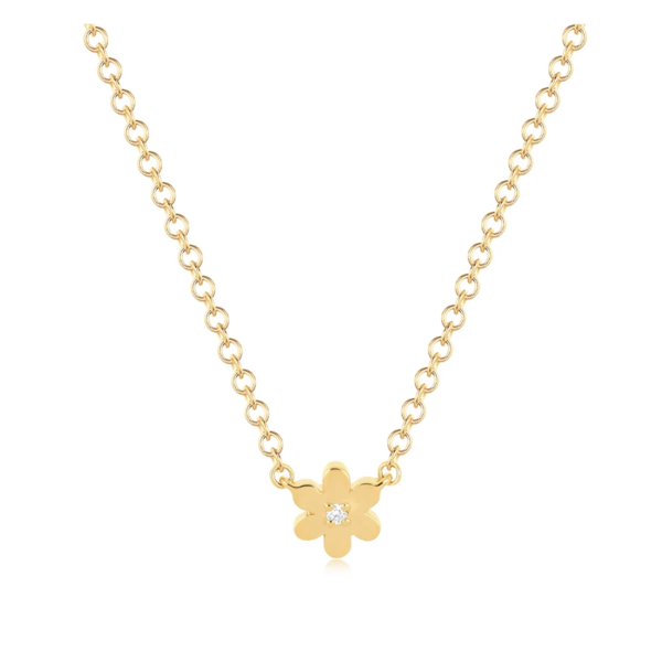 EF COLLECTION BABY DAISY NECKLACE