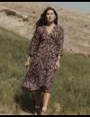 SELF CONTRAST SAVANNAH DRESS