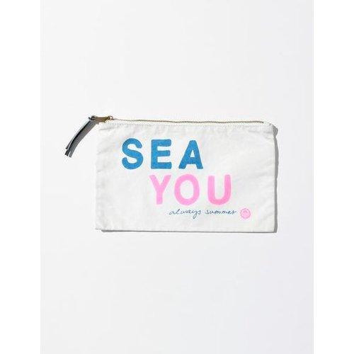 SUNDRY SUNDRY SEA YOU POUCH