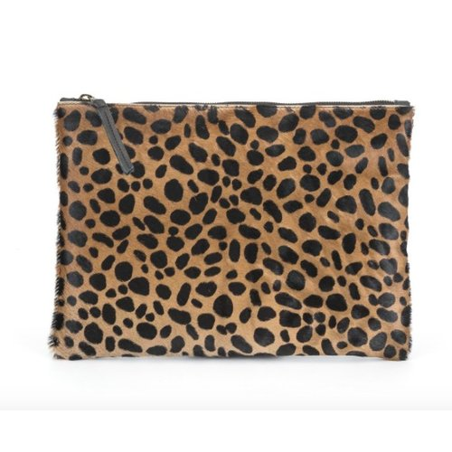 MOLLY G MOLLY G REBEL CLUTCH CHEETAH