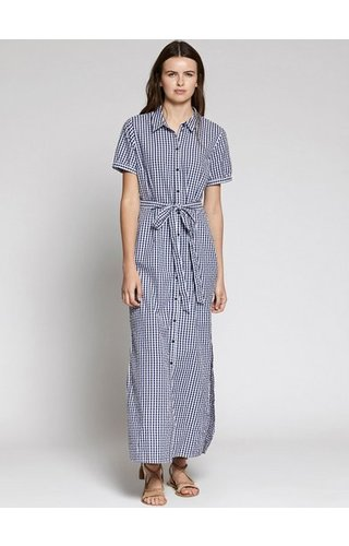 SANCTUARY SANCTUARY BLUE DAWN MAXI DRESS