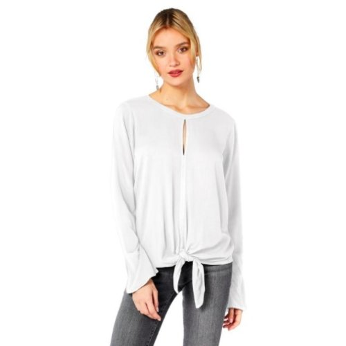MICHAEL STARS MICHAEL STARS KNOTTED BLOUSE