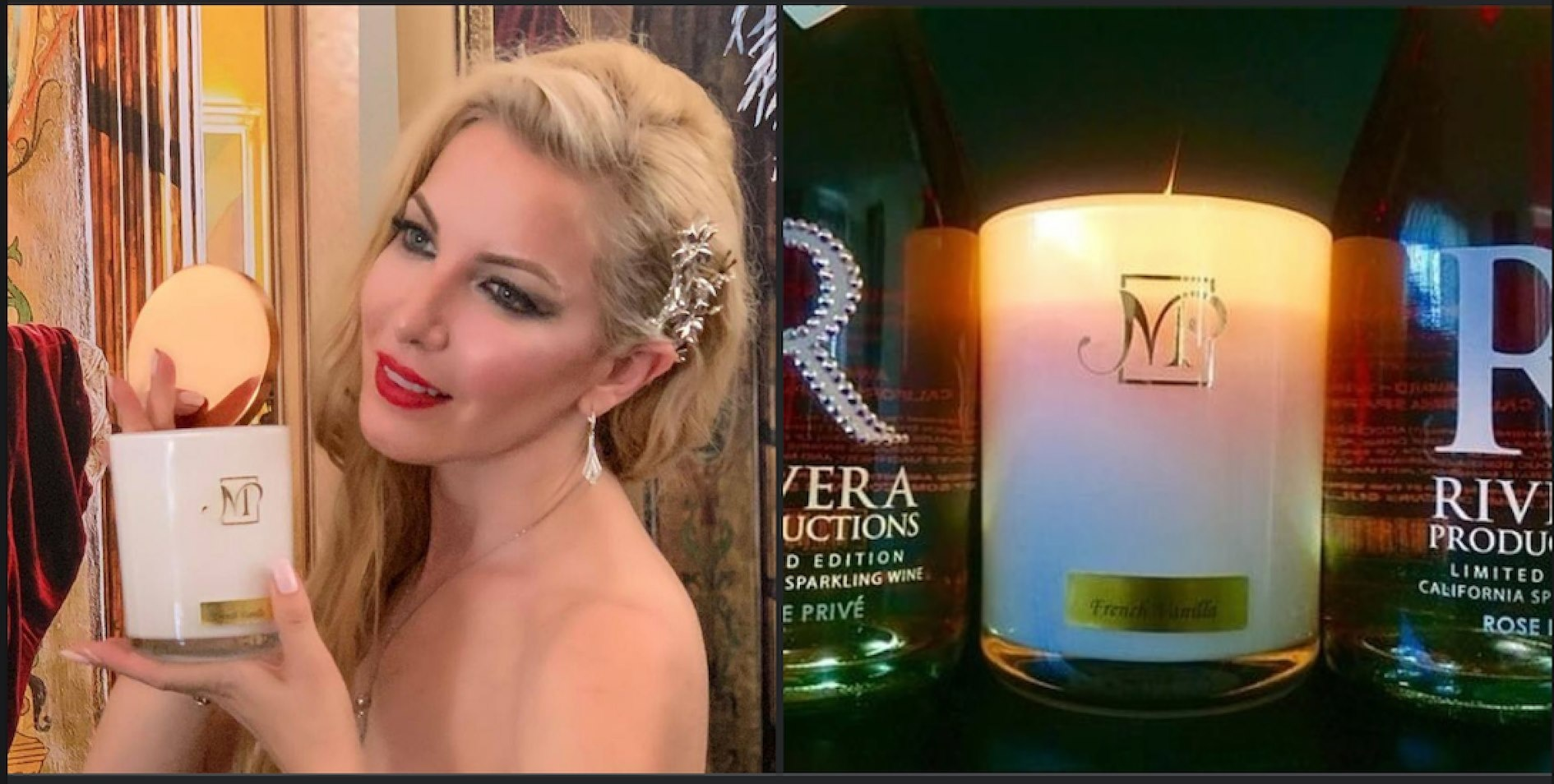 Celebrities Present Luxurious Milena Candles