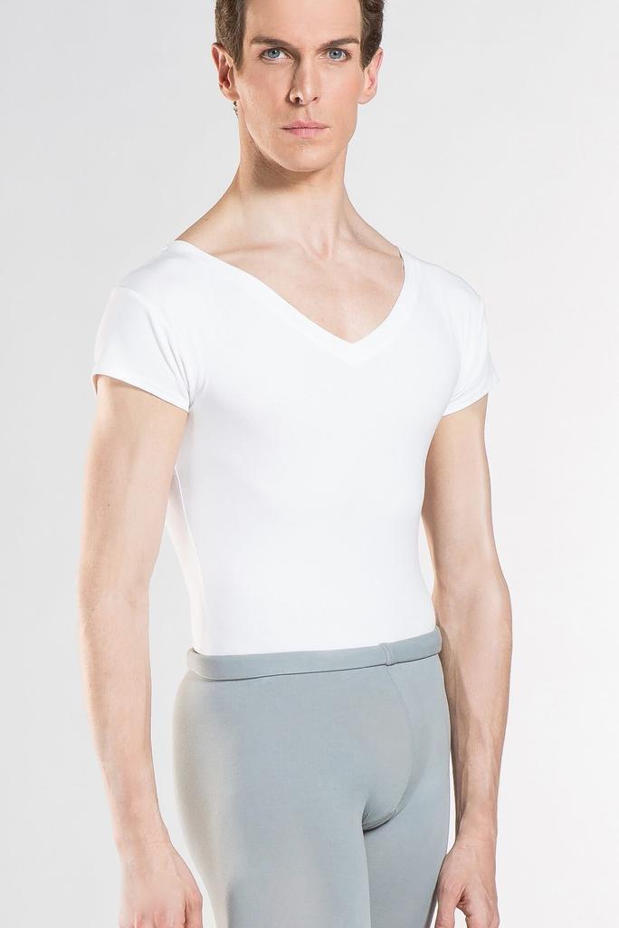 WearMoi WEAR MOI - Mens V-Neck Short Sleeve Shirt