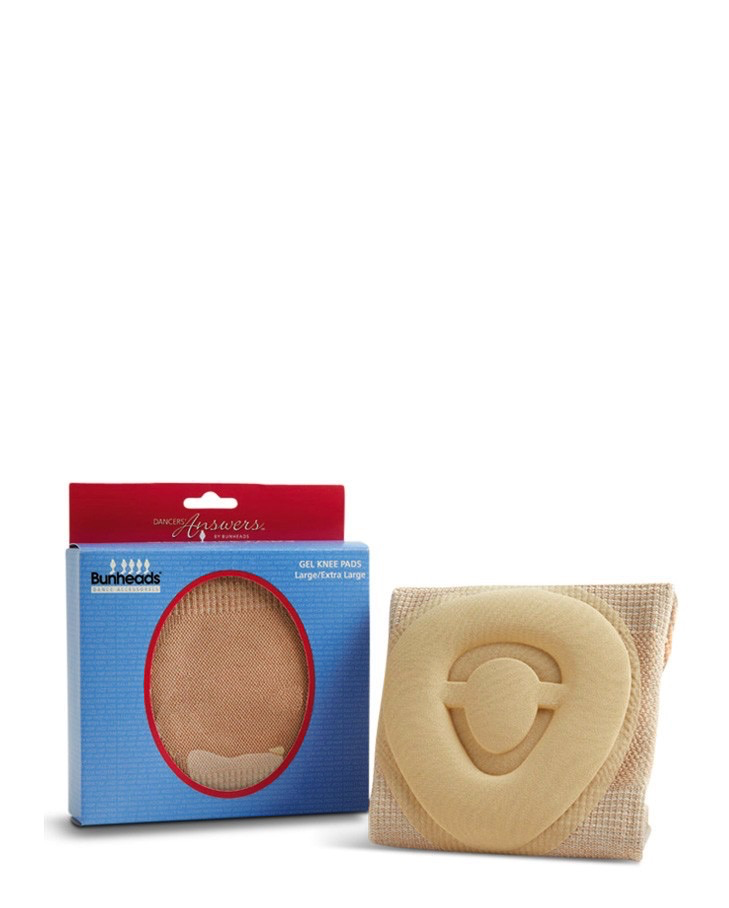 BUNHEADS GEL KNEE PADS - LARGE/X-LARGE