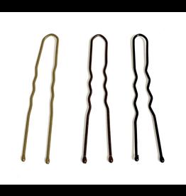 """FH2 FH2 U-Shaped 2"""" Hair Pins 100 Pack"""
