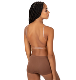CAPEZIO LADIES - DEEP NECK CLEAR BACK BRA by Capezio