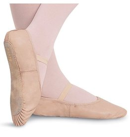 BLOCH PINK FULL SOLE SLIPPER (GIRLS) by Bloch