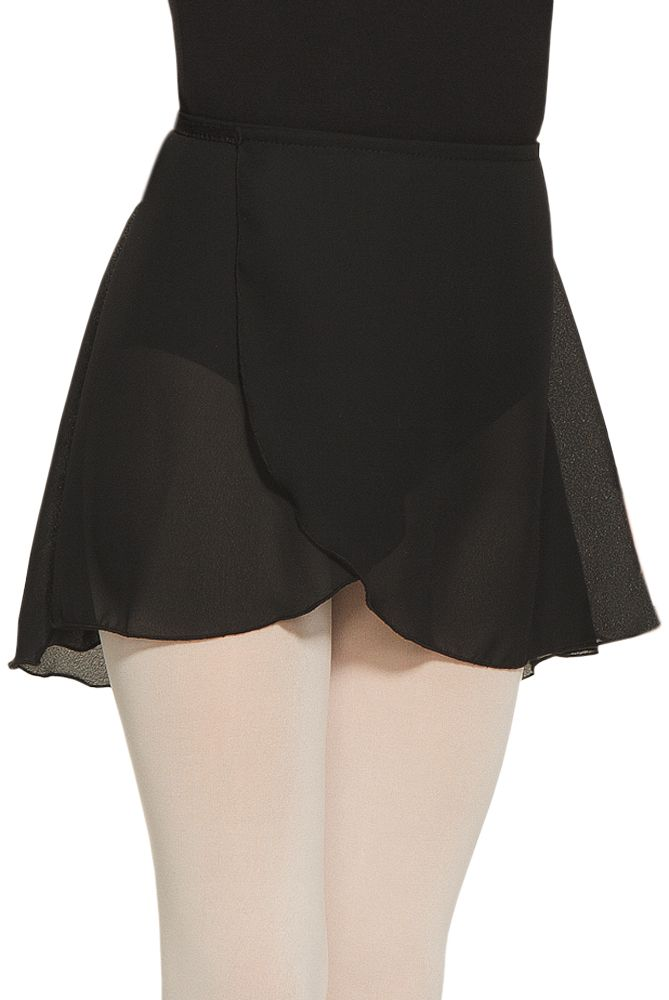MONDOR CHIFFON WRAP SKIRT by Mondor