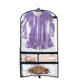BALLOWEAR 5 Pocket Costume Garment Bag with Fillable Card by Ballowear