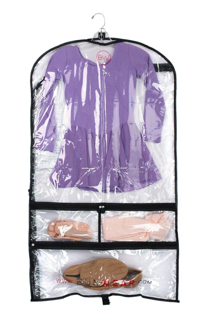 BALLOWEAR 5 Pocket Costume Garment Bag with Fillable Card by Ballowear