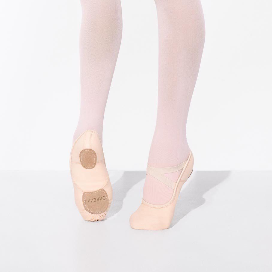 CAPEZIO HANAMI STRETCH CANVAS BALLET SLIPPER by Capezio