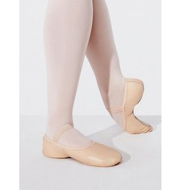 CAPEZIO LILY - ADULTS NO DRAWSTRING FULL SOLE BALLET SHOE By Capezio
