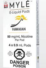 Myle Myle Replacement Pod (Single) Hawaiian 5.0mg