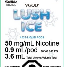 Myle Myle Replacement Pod (Single) Lush Ice 5.0mg