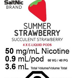Myle Myle Replacement Pod (Single) Summer Strawberry 5.0mg