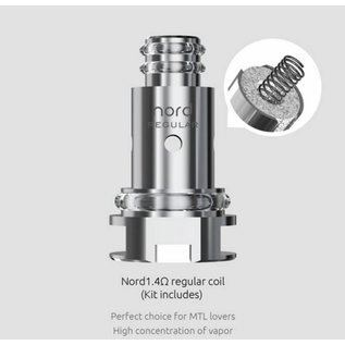 Smok Smok Nord 1.4 ohm Regular Replacement Coil (Individual)