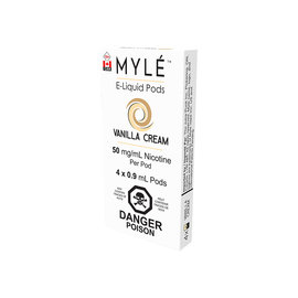 Myle Myle Replacement Pod (Single) Vanilla Cream 5.0mg