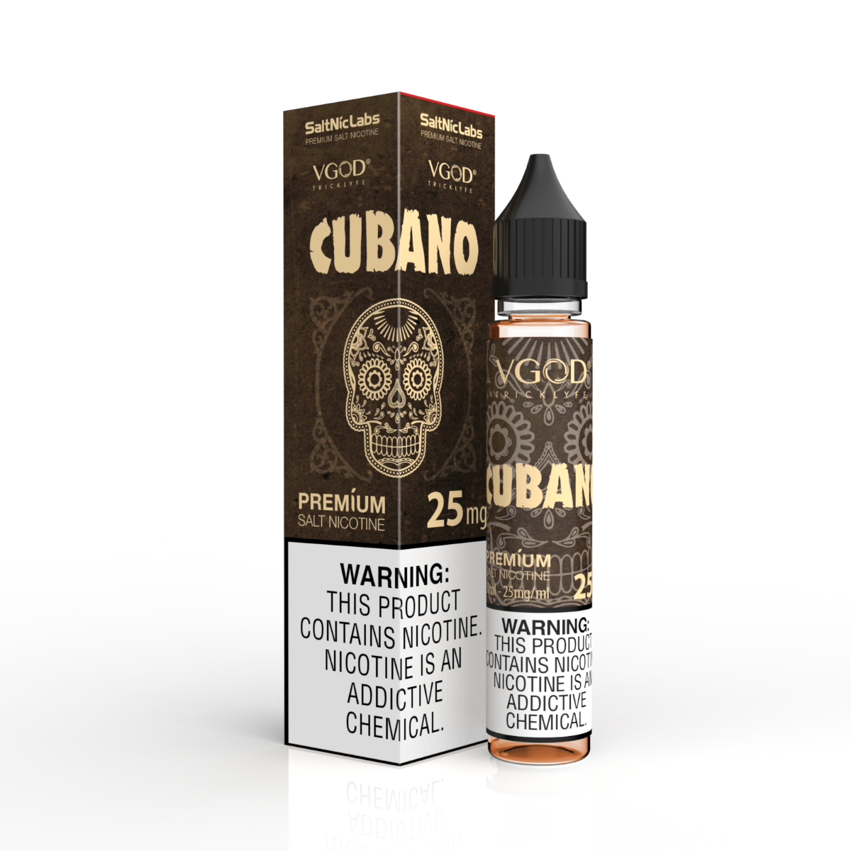 VGOD VGOD Cubano Salt Nic 30ml E-liquid