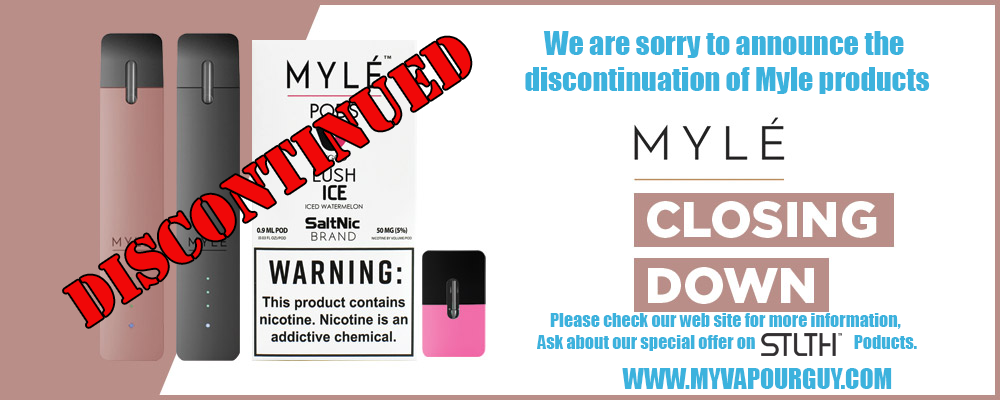 Myle Discontinued