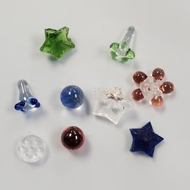 Premium Glass Screens Assorted (Star,Daisy,Honeycomb)