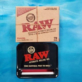 Raw Raw Rollbox Rolling Machine - Black - 79mm
