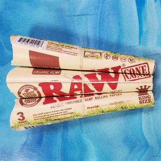 Raw RAW Organic Hemp Pre-Roll Cone King Size 3Pk