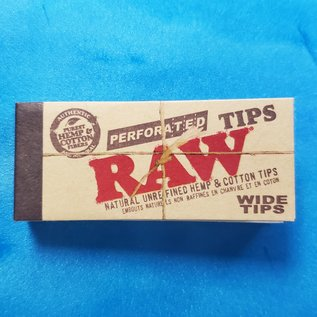 Raw Raw Perforated Wide Tips Mini Book