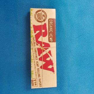 Raw Raw Organic Hemp 1 1/4 Paper 50Pk