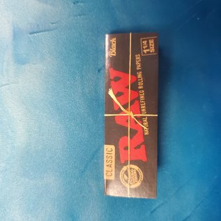 Raw Raw Classic Black 1 1/4 Papers