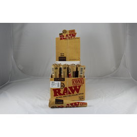 Raw Raw Classic Pre Roll Cone 1-1/4' - 6 pack
