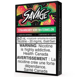 STLTH STLTH Savage Pods Straw Kiwi Watermelon (3/pack)