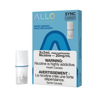 Allo Allo Sync Pods 3/PK - Mixed Berries