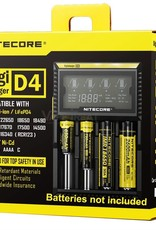Nitecore Intellicharger D4 LCD Battery Charger -