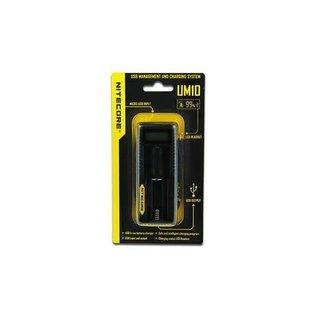 Nitecore Intellicharger UM10 LCD Li-ion Battery Charger -