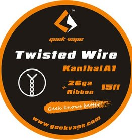Geek Vape GEEK VAPE 15ft Twisted Wire Kanthal A1 26ga + Ribbon