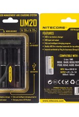 E-Fest Nitecore Intellicharger UM20 LCD Li-ion Battery Charger  4 Bay