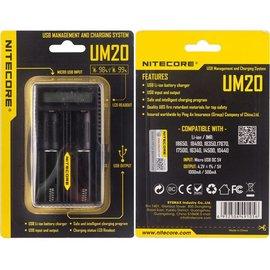 E-Fest Nitecore Intellicharger UM20 LCD Li-ion Battery Charger  4 Bay