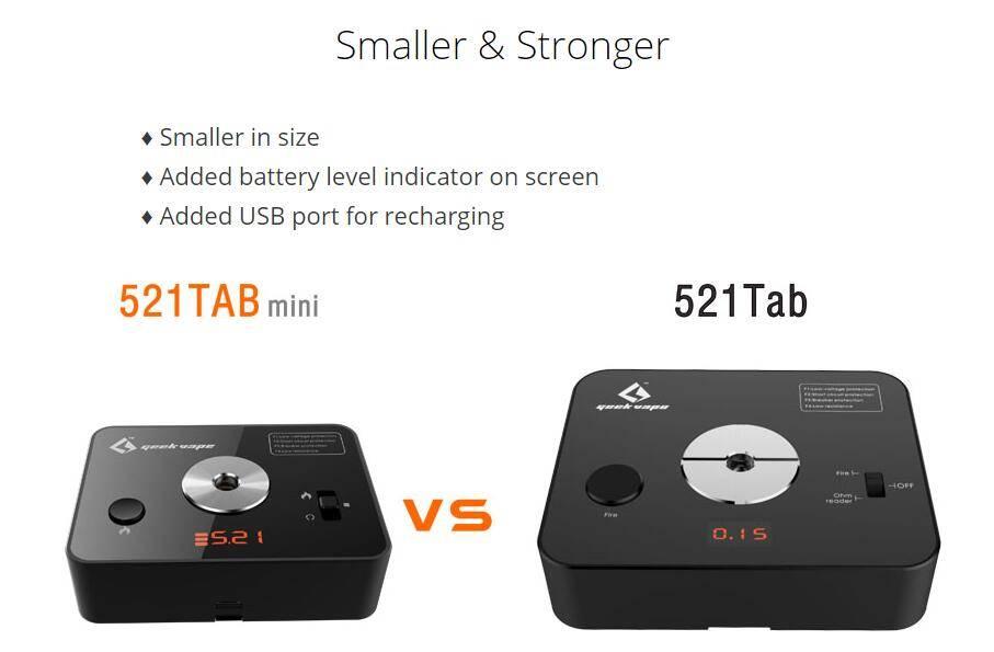 Geek Vape 521 Mini tab