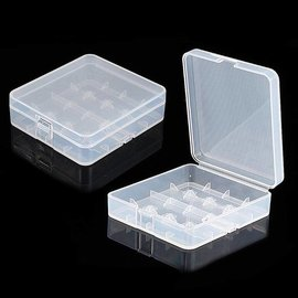 Plastic Storage Case for 18650 / 26650 Battery