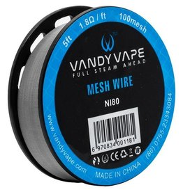 Vandy Vape Vandy Vape KA1 80 Mesh Wire 5ft