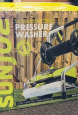 Sun Joe Pressure Washer SPX4001 - 14.5 Amp Electric Pressure Washer w/ Pressure Select Technology & Hose Reel