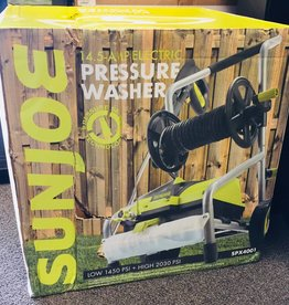 Sun Joe Pressure Washer SPX4001 - 14.5 Amp Electric Pressure Washer w/ Pressure Select Technology & Hose Reel