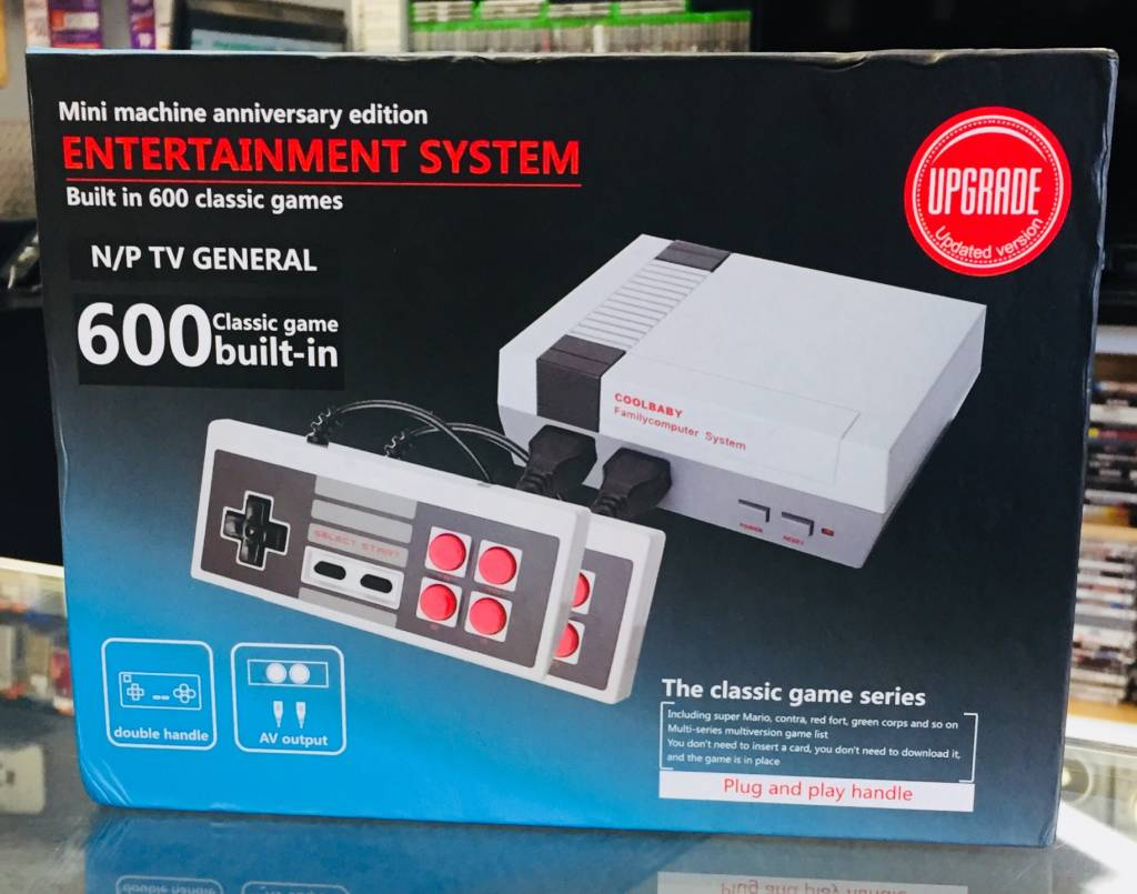 Cool Baby Retro Nintendo Entertainment System NES -  Mini Machine Anniversary Edition - 600 Built-in Games