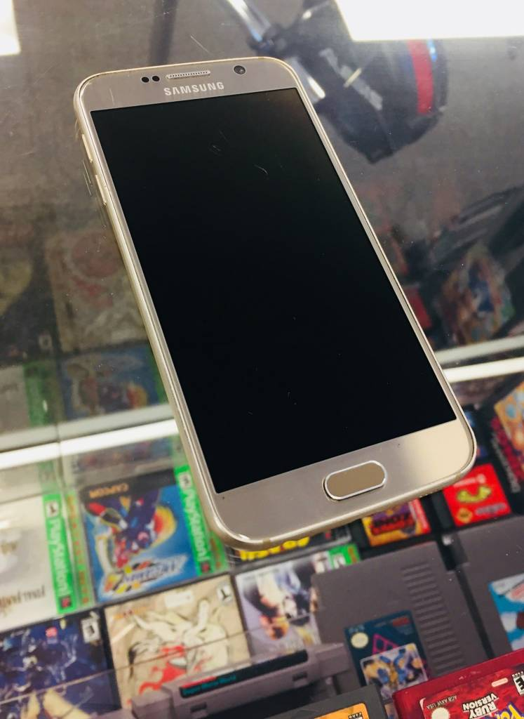 Sprint Only - Samsung Galaxy S6 32GB - Gold - Fair Condition