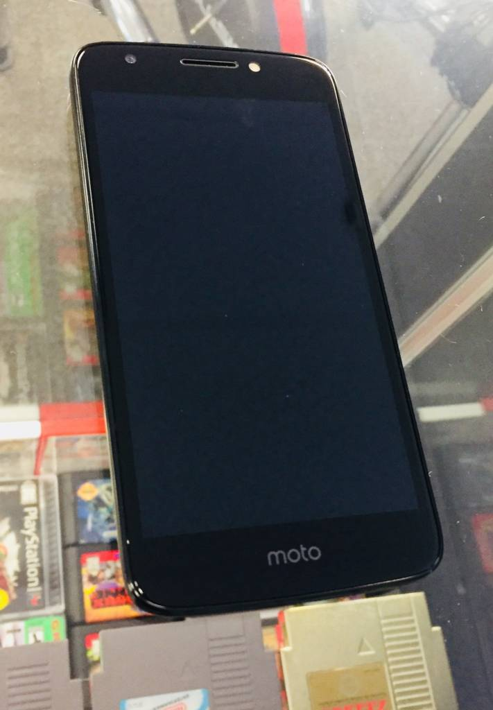 Sprint Only - Moto E4 16GB - Black